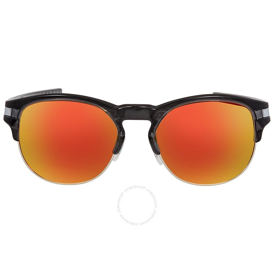 1f0af6be3ec74 ... Oakley Latch Key Prizm Ruby Round Men s Sunglasses OO9394 939404 52 ...