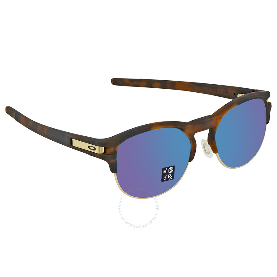 5d71ada2823 Oakley Latch Key Sapphire Iridium Round Men s Sunglasses 0OO9394 939407 52  ...