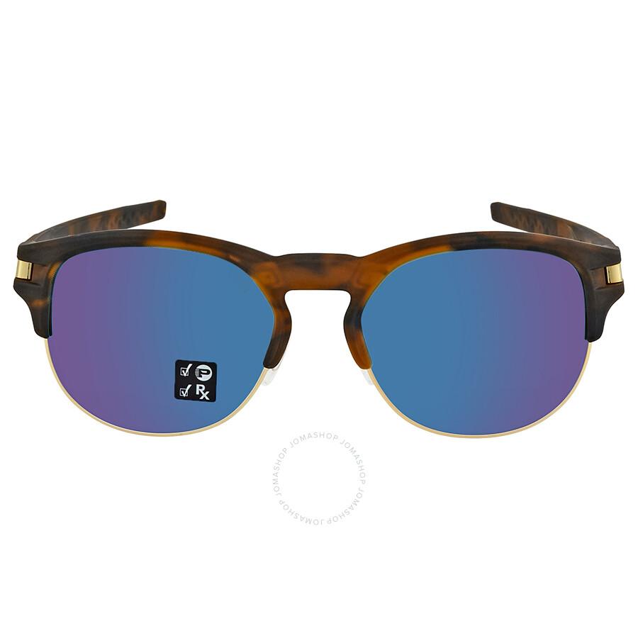 3dd9e02b135 ... Oakley Latch Key Sapphire Iridium Round Men s Sunglasses 0OO9394 939407  52 ...