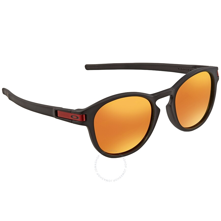 dd3abfbf9f Oakley Latch Prizm Ruby Round Asia Fit Sunglasses OO9349-934913-53 ...