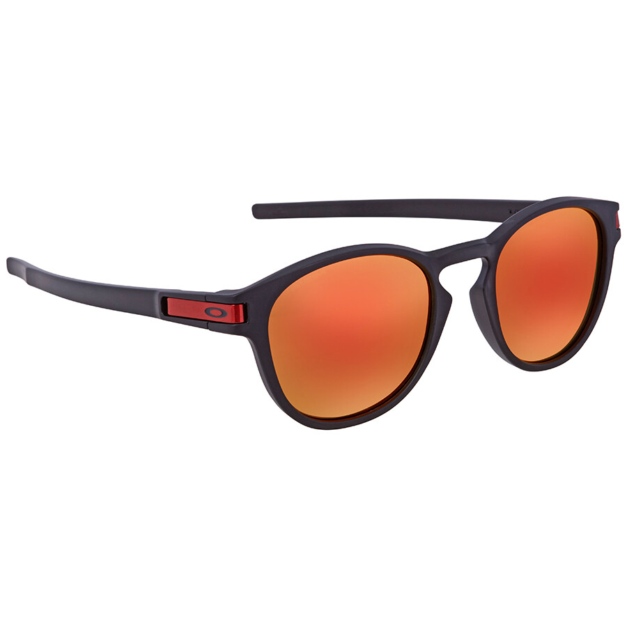 10ab81b2093 Oakley Latch Prizm Ruby Round Sunglasses OO9265-926529-53 - Oakley ...