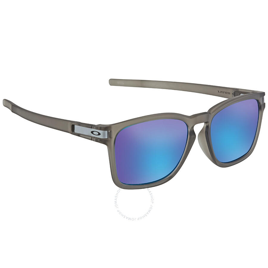 Oakley Latch Squared >> Oakley Latch Squared Prizm Sapphire Rectangular Asia Fit Sunglasses Oo9358 935812 55