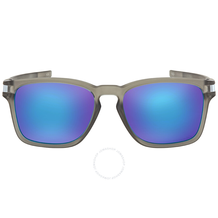 48fd52c996 ... Oakley Latch Squared Prizm Sapphire Rectangular Asia Fit Sunglasses  OO9358 935812 55 ...