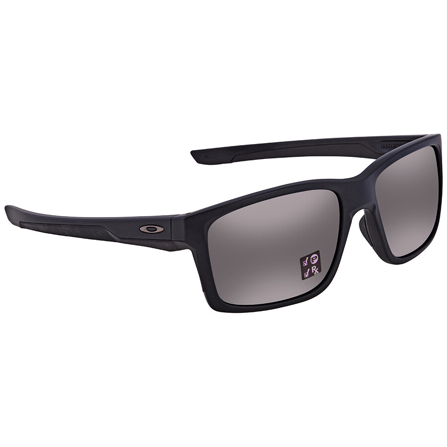 f6e8ad5351 Oakley Mainlink Prizm Black Polarized Rectangular Men s Sunglasses  OO9264-926427-57 ...
