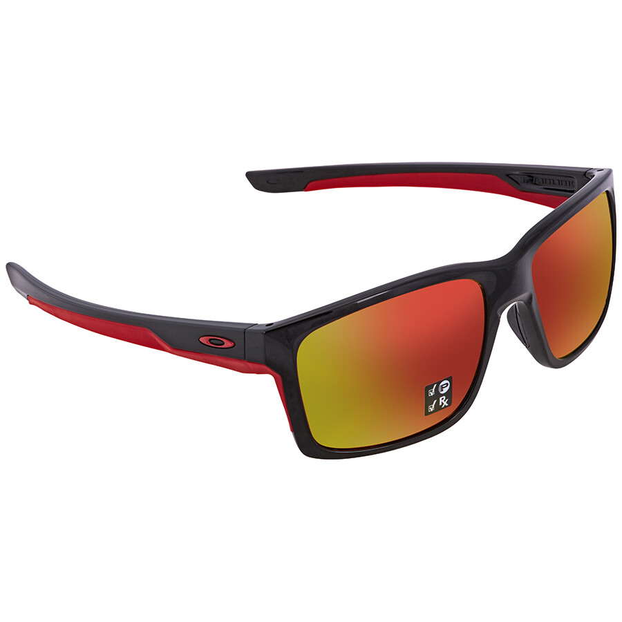 be1397fa0e Oakley Mainlink Prizm Ruby Polarized Rectangular Men s Sunglasses OO9264  926435 57 ...