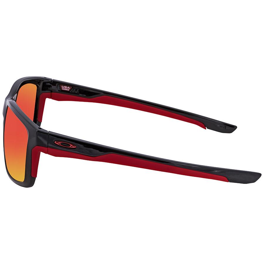 09f3bf3d46 ... Oakley Mainlink Prizm Ruby Polarized Rectangular Men s Sunglasses  OO9264 926435 57