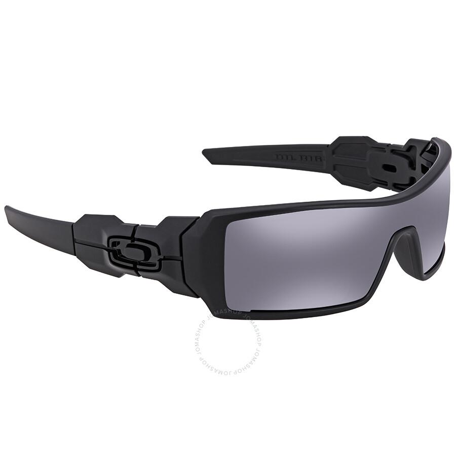 b885e19932 Oakley Oil Rig Black Iridium Sunglasses OO9081-03-464-28 - Oakley ...