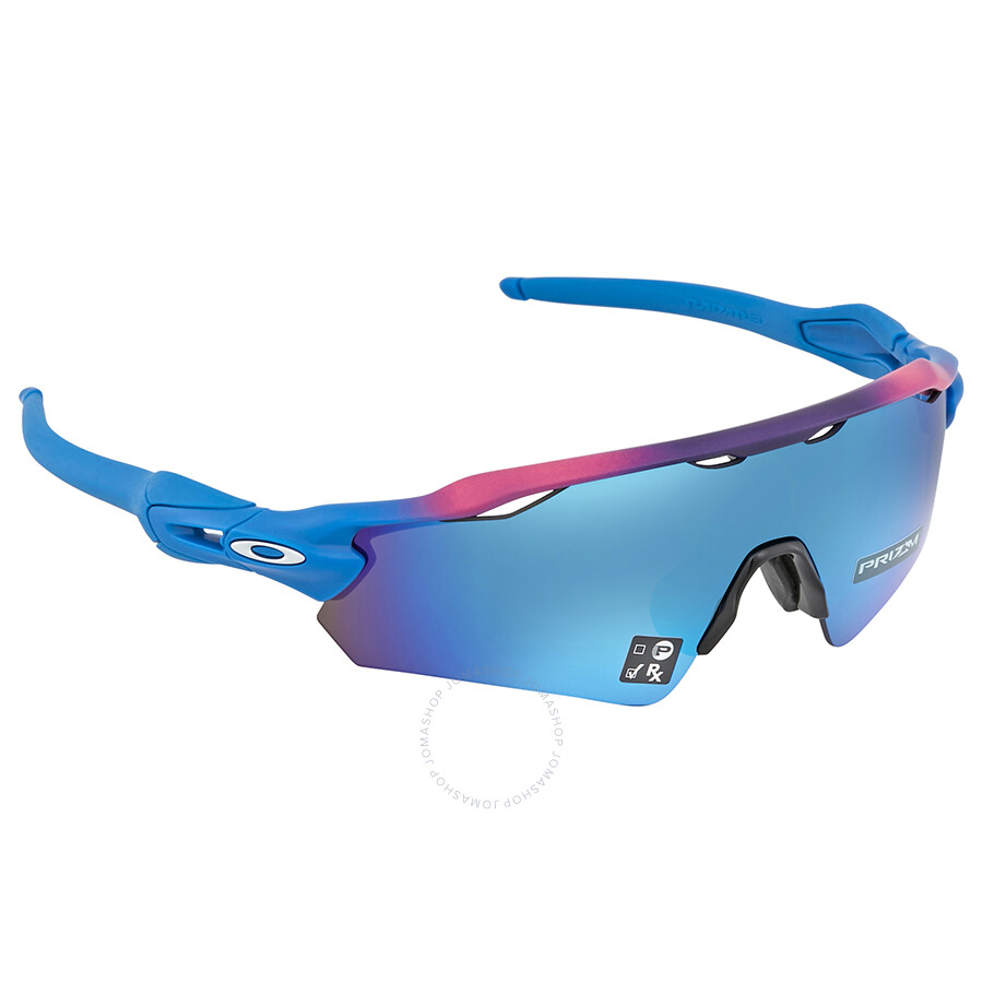 da653ffb5c ... italy oakley radar ev path asia fit prizm sapphire sport mens sunglasses  oo9275 927523 35 268cb