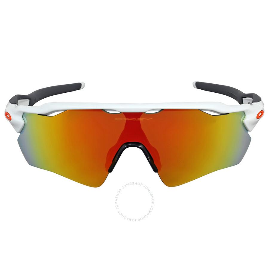 Oakley Radar EV Path Fire Iridium Sunglasses ...