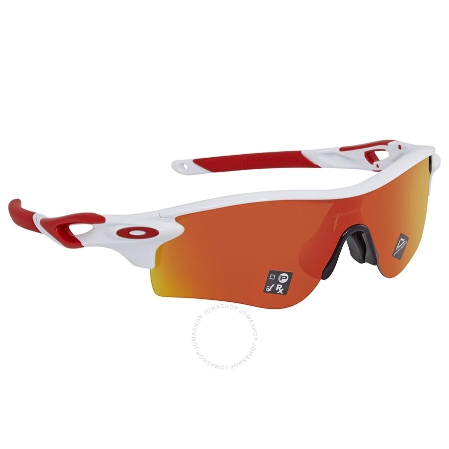 noukkia ostaa halpaa alennuksessa Oakley RadarLock Path (Asia Fit) Prizm Ruby Sunglasses OO9206 920646 38