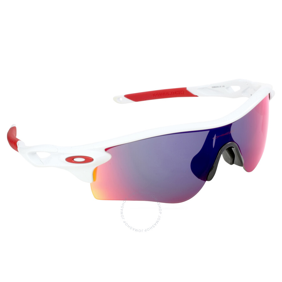 Oakley Radarlock Path >> Oakley Radarlock Path Asia Fit Sunglasses White Polished Positive