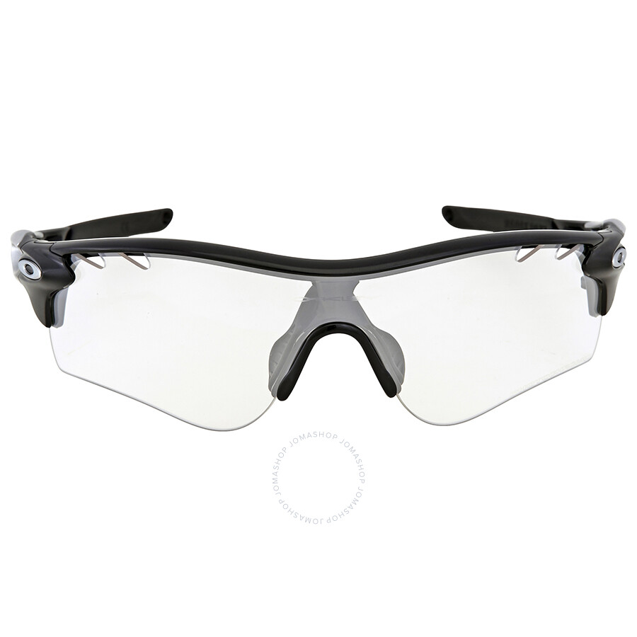 7970a730ea274 Oakley RadarLock Path Clear Black Iridium Photochromic Activated Sport  Men s Sunglasses OO9181-918136-38 ...