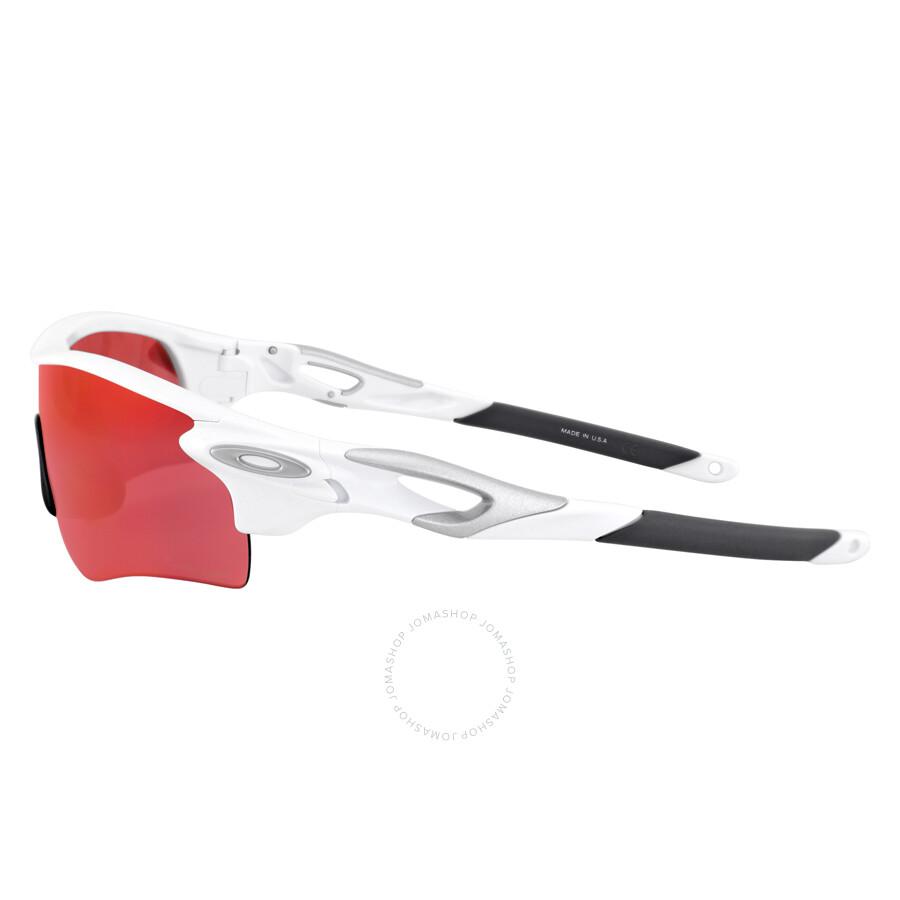 4f658027b9b ... Oakley Radarlock Path PRIZM Field Asia Fit Sunglasses - Polished White Prizm  Baseball ...