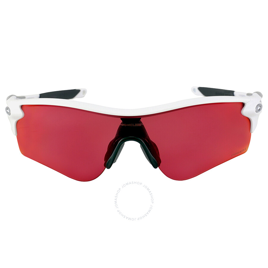 Oakley Radarlock Path >> Oakley Radarlock Path Prizm Field Asia Fit Sunglasses Polished White Prizm Baseball