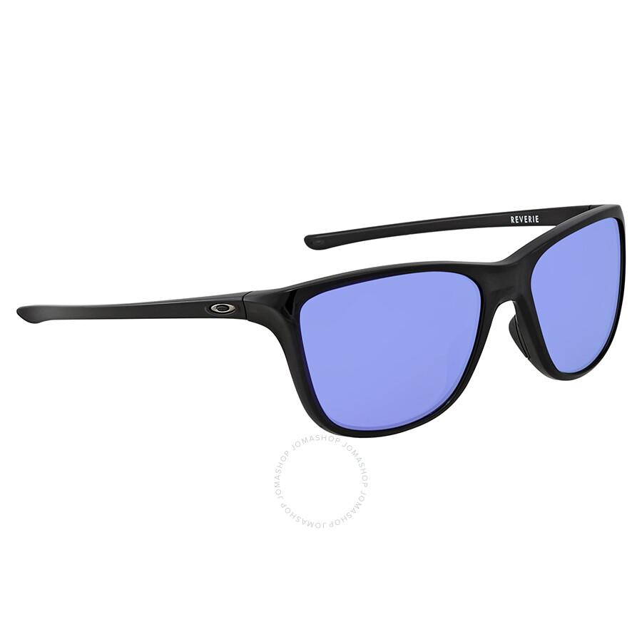 fa3202d952e1a Oakley Reverie Violet Iridium Square Ladies Sunglasses OO9362-936203-55 ...