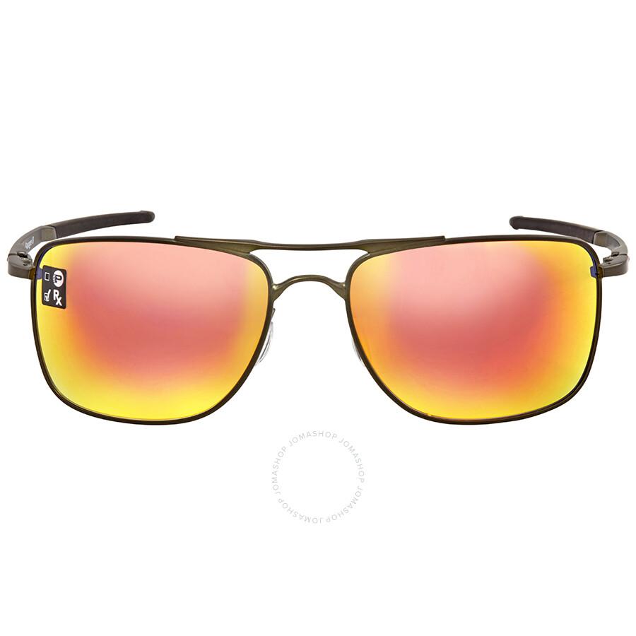 34cd1de069 Oakley Ruby Iridium Square Men s Sunglasses OO4124-412403-62 ...