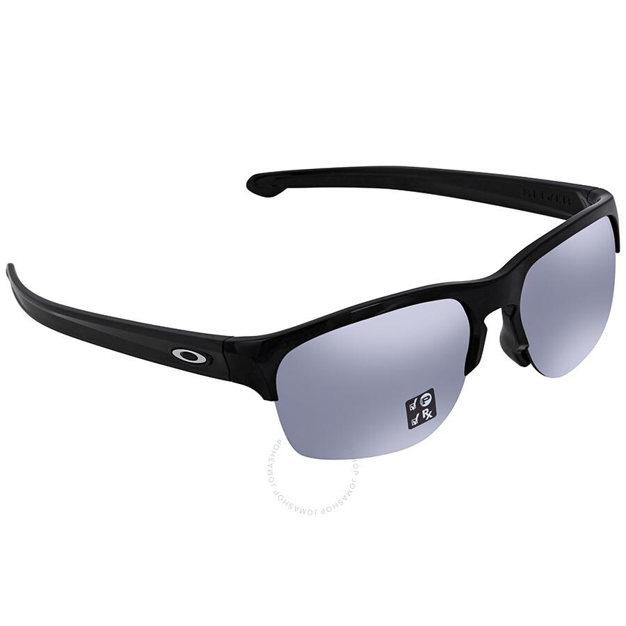 e1aaf77e4d Oakley Silver Edge Prizm Black Square Men s Sunglasses 0OO9414 941404 63 ...