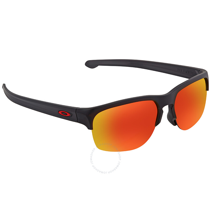 830ac0be2a7e5 Oakley Silver Edge Prizm Ruby Square Men s Sunglasses OO9414 941402 63 ...