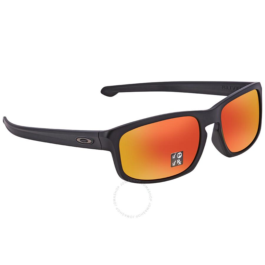 5c3b1f7f64979 Oakley Silver Stealth Prizm Ruby Rectangular Men s Sunglasses 0OO9409  940906 57 ...