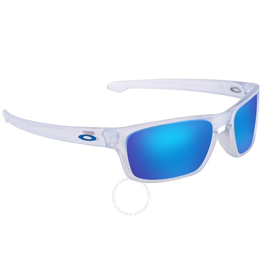 111ba87031eb8 Oakley Silver Stealth Prizm Sapphire Square Men s Sunglasses 0OO9408 940804  56 ...