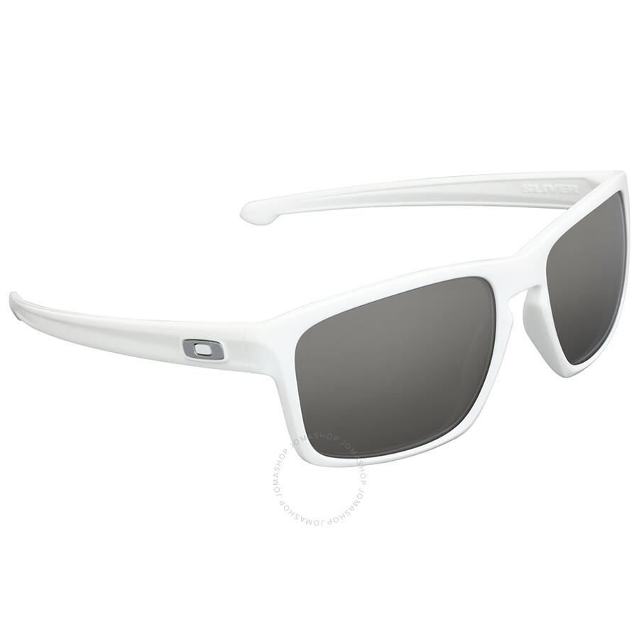 dd41fb18a04a7 Oakley Silver White Square Sunglasses Oakley Silver White Square Sunglasses  ...