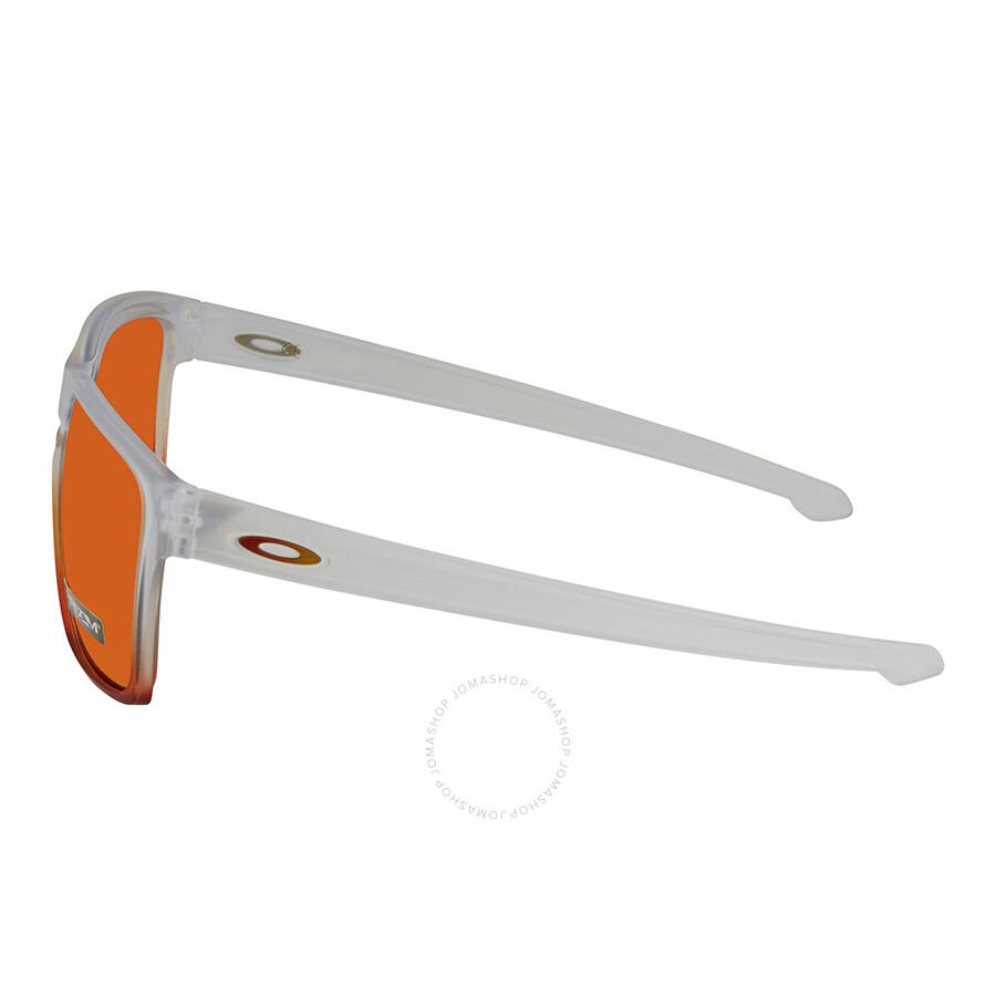cef3d6909dc5 ... Oakley Silver XL Prizm Ruby Rectangular Men s Sunglasses 0OO9341 934127  57