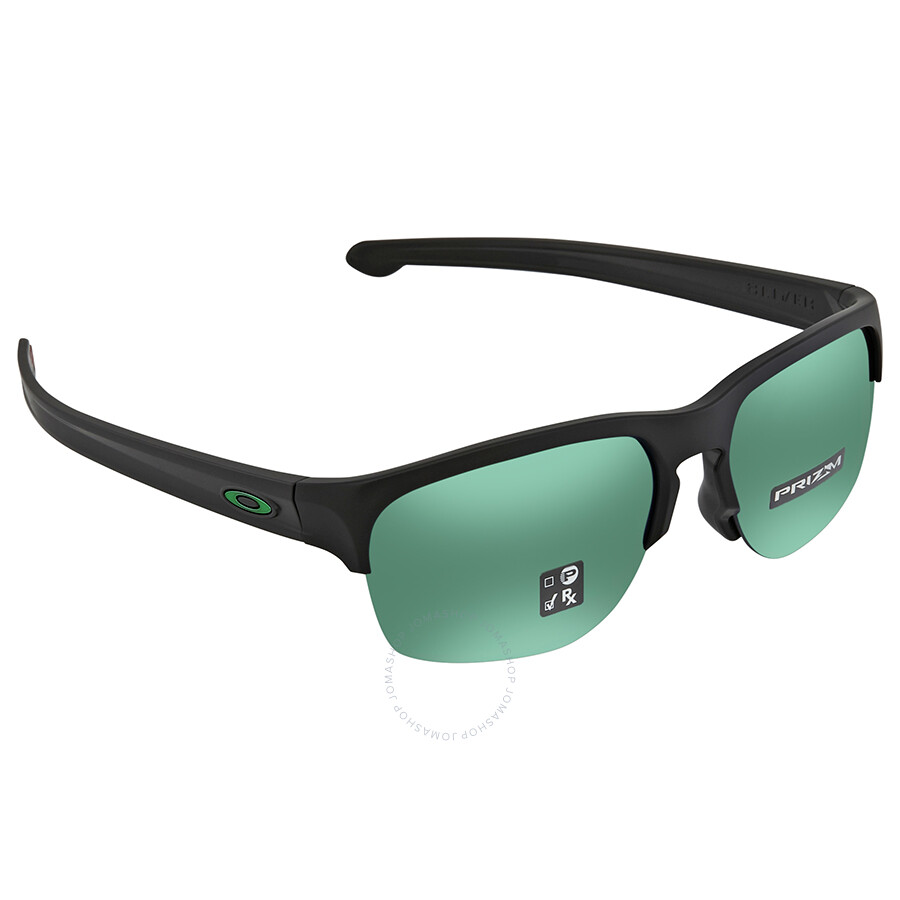 Oakley Sliver Edge Prizm Jade Square Asia Fit Sunglasses 0OO9414 941405 63  ... 826cd164c8