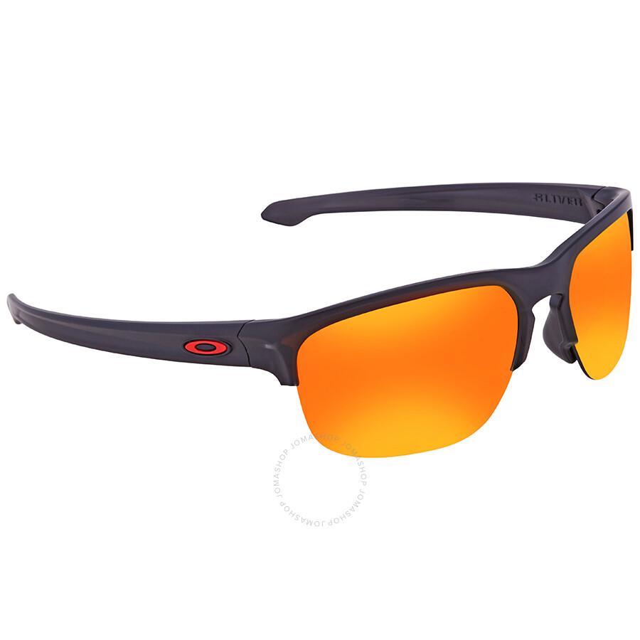 73b206828c6 Oakley Sliver Edge Prizm Ruby Round Men s Sunglasses 0OO9413 941302 65 ...