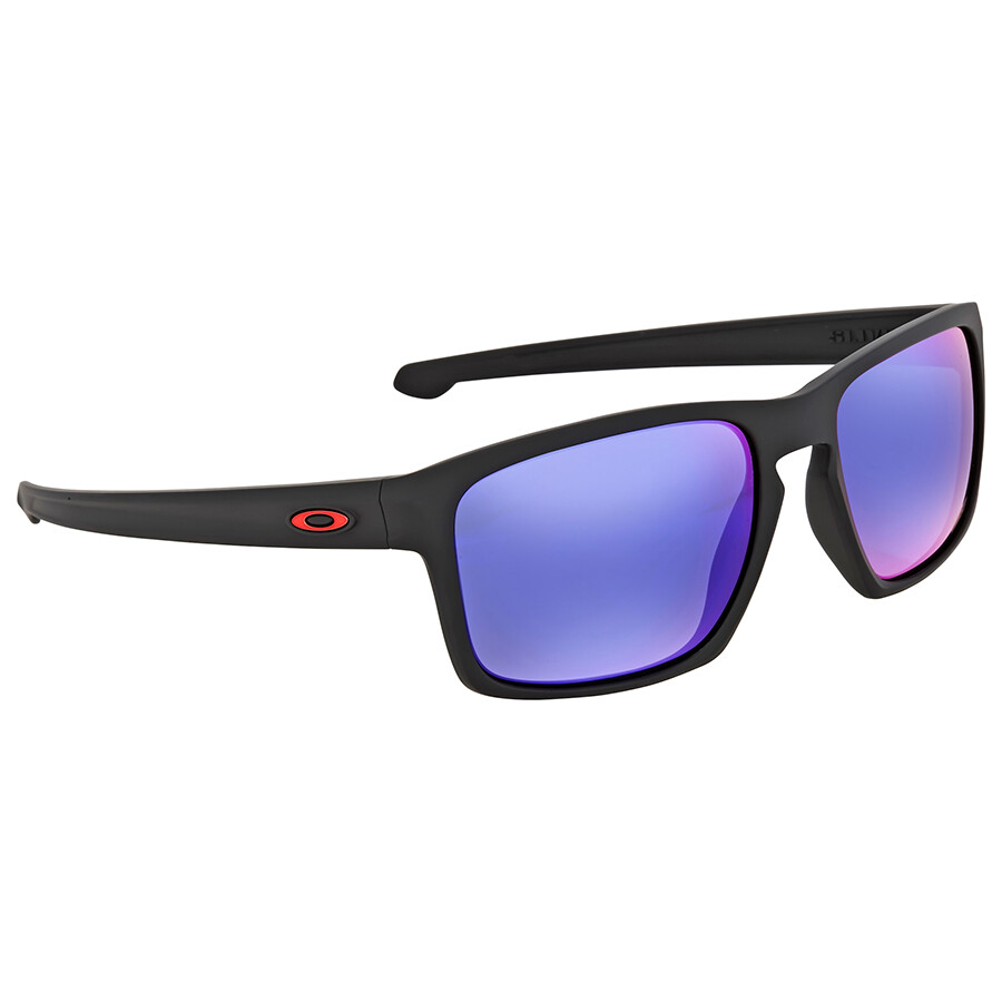 3a1bfc247d41 Oakley Sliver Red Iridium Square Sunglasses - Oakley - Sunglasses ...