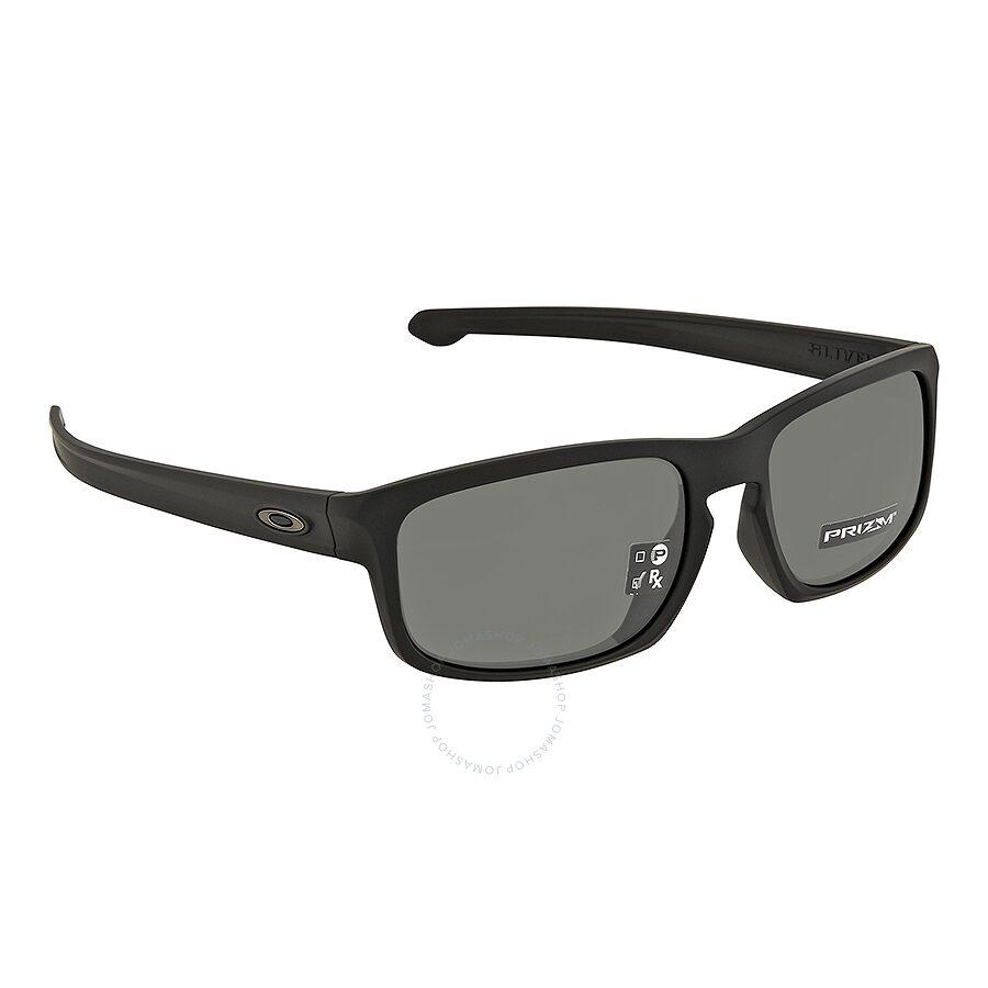 5b6f086775 Oakley Sliver Stealth Prizm Grey Rectangular Men s Sunglasses 0OO9409  940901 57 ...