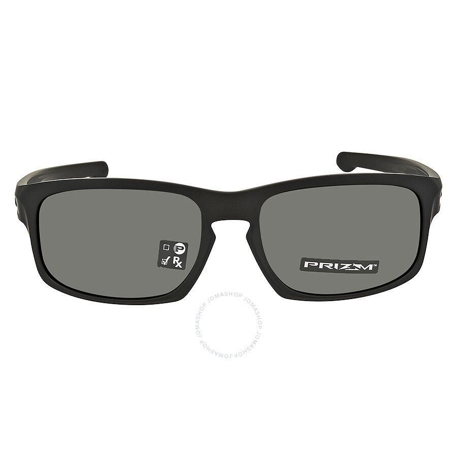 af1cae74ce ... Oakley Sliver Stealth Prizm Grey Rectangular Men s Sunglasses 0OO9409  940901 57 ...