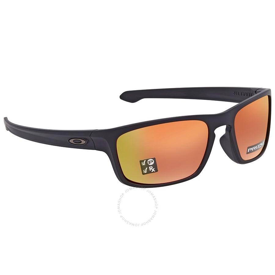 5b2b6fea4096b Oakley Sliver Stealth Prizm Ruby Square Sunglasses OO9408 940806 56 ...