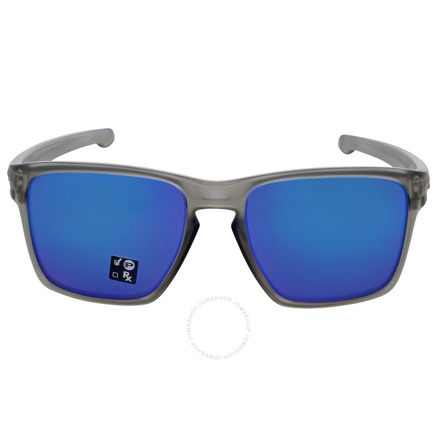 71b839c693 Oakley Matte Gray Ink Frame Sapphire Iridium Polarized Sunglasses Item No.  OO9341-934103-57