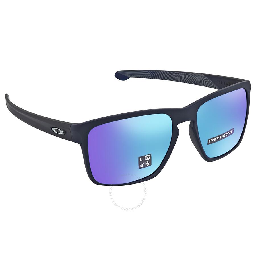 24ad4745d4 Oakley Sliver XL Prizm Sapphire Rectangular Men s Sunglasses OO9341 934122  57 ...