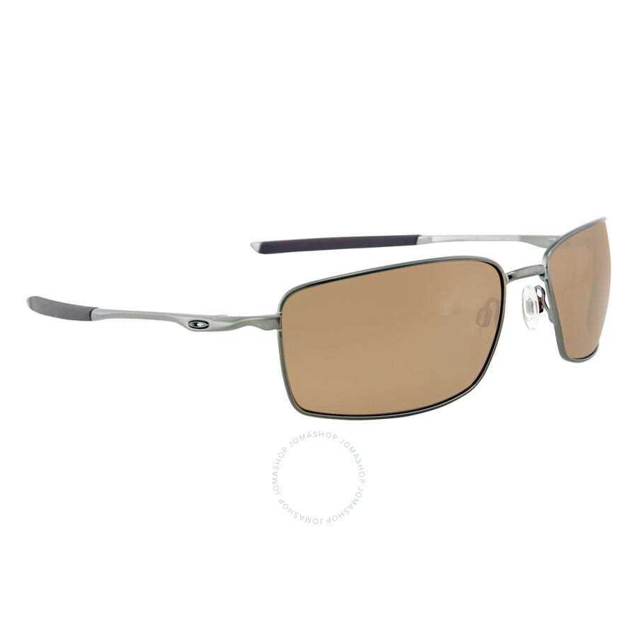 d8d7821578a ... Oakley Square Wire Tungstein Iridium Polarized Men s Sunglasses OO4075- 407506-60