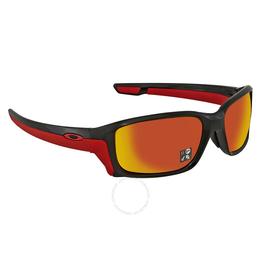 d8303727666 Oakley Straightlink (Asia Fit) Prizm Ruby Rectangular Men s Sunglasses  OO9336 933606 58 ...