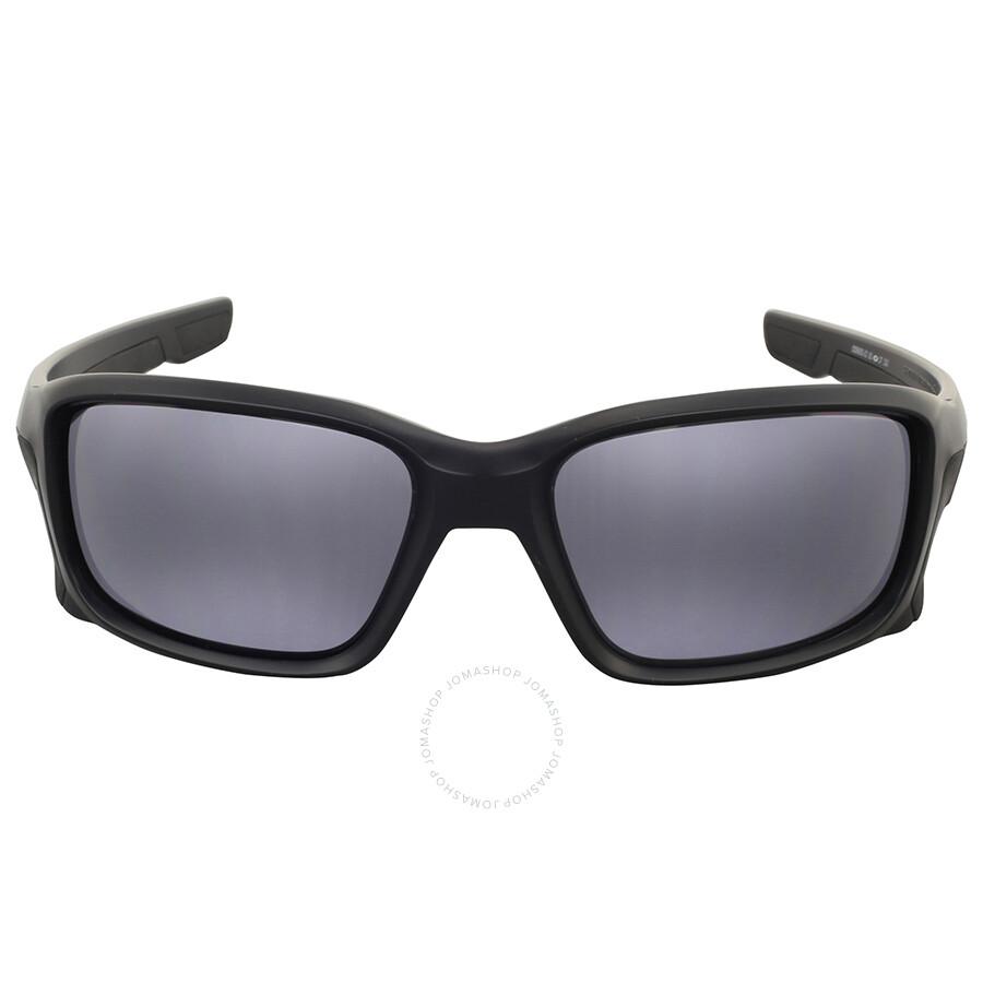 Oakley Straightlink Grey Rectangular Sunglasses - Oakley ...