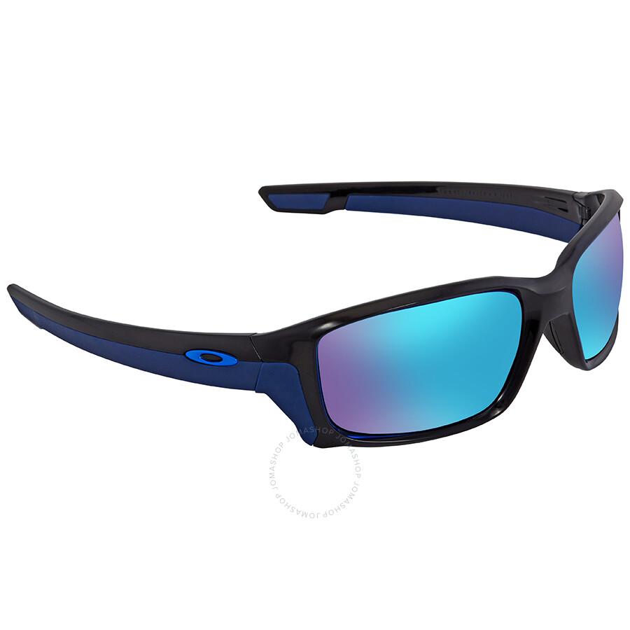 4e67a8fde9 Oakley Straightlink Sapphire Iridium Mirrored Rectangular Men s Sunglasses  OO9331-933104-58 ...