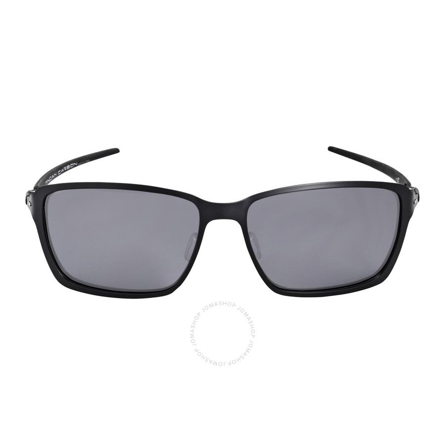6e0d2f4fc73 Oakley Tincan Carbon Black Iridium Polarized Men s Sunglasses OO6017-601702-58  ...