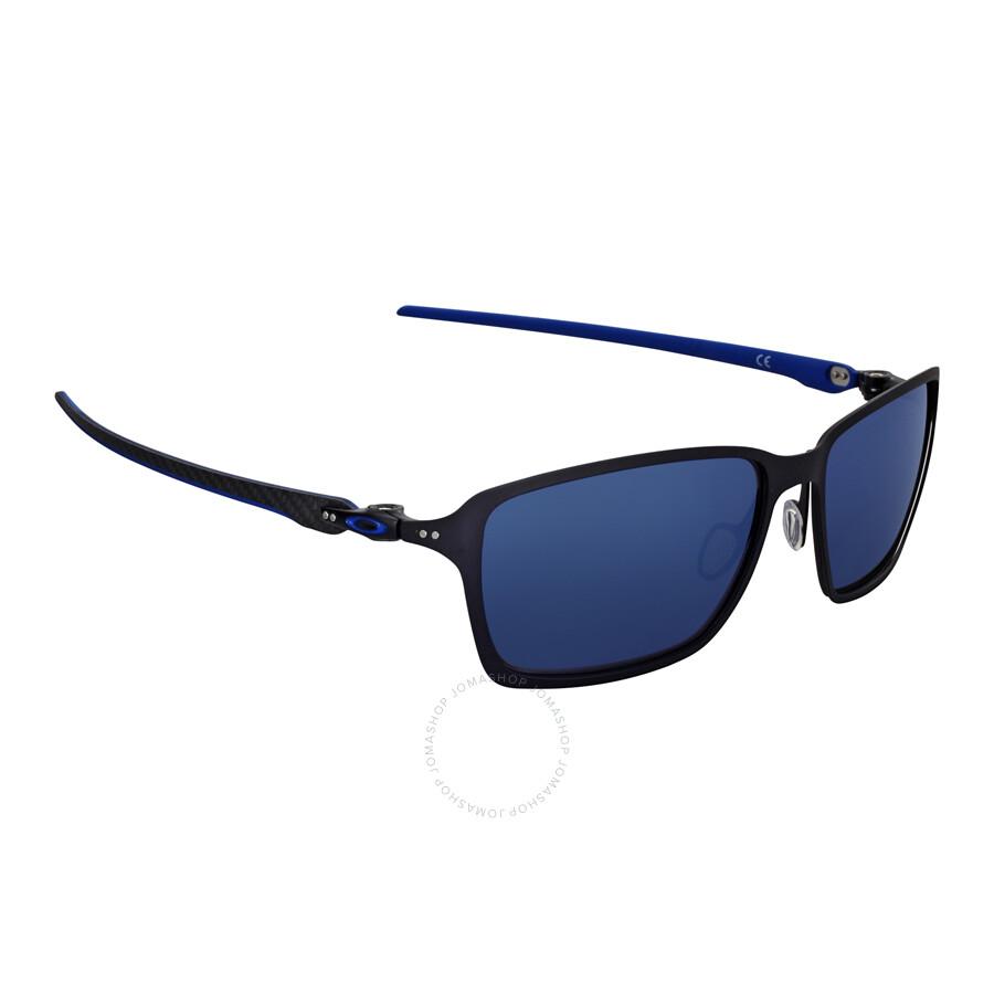 09a15685573 Oakley Tincan Carbon Sunglasses - Matte Black Blue - Oakley ...