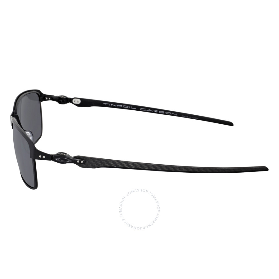 7f6de7d1af Oakley Tinfoil Carbon Sunglasses - Satin Black Mirror Polarized ...