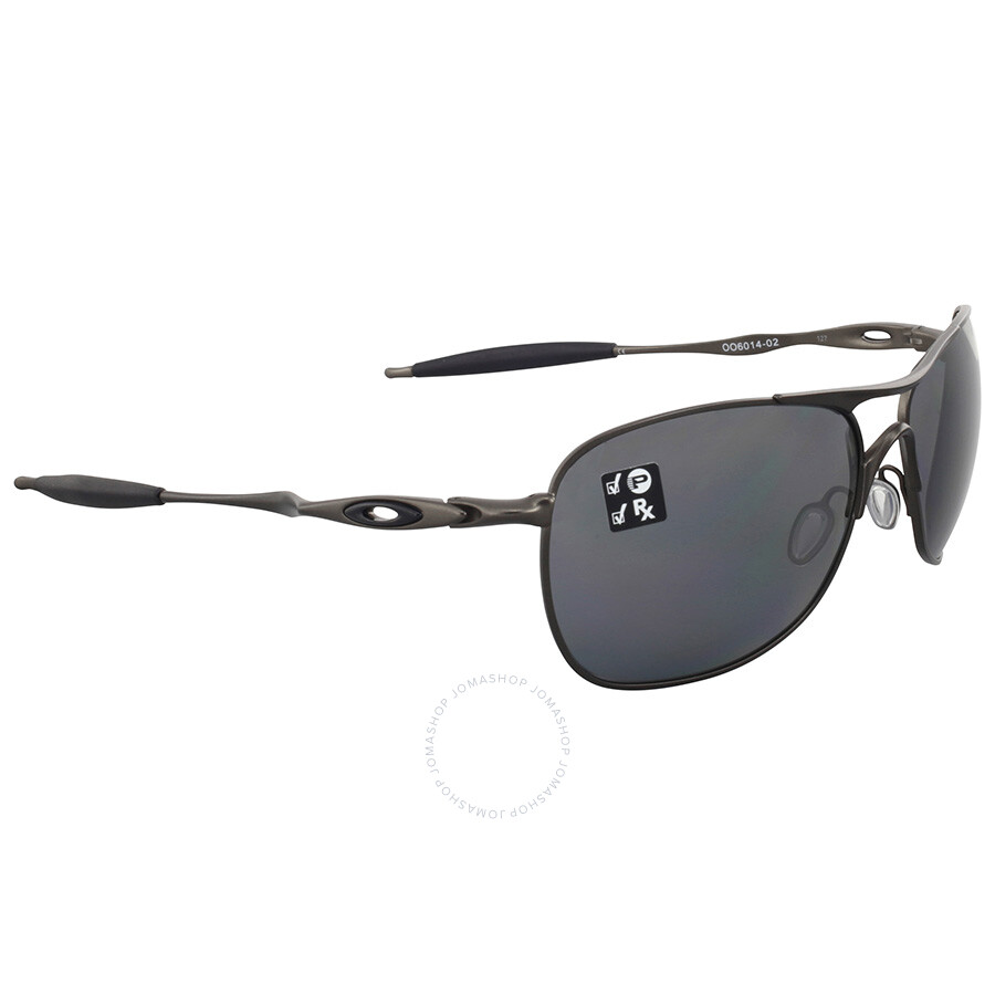 4f91d5fb0d9 Oakley Titanium Crosshair Black Iridium Aviator Sunglasses Oakley Titanium Crosshair  Black Iridium Aviator Sunglasses ...