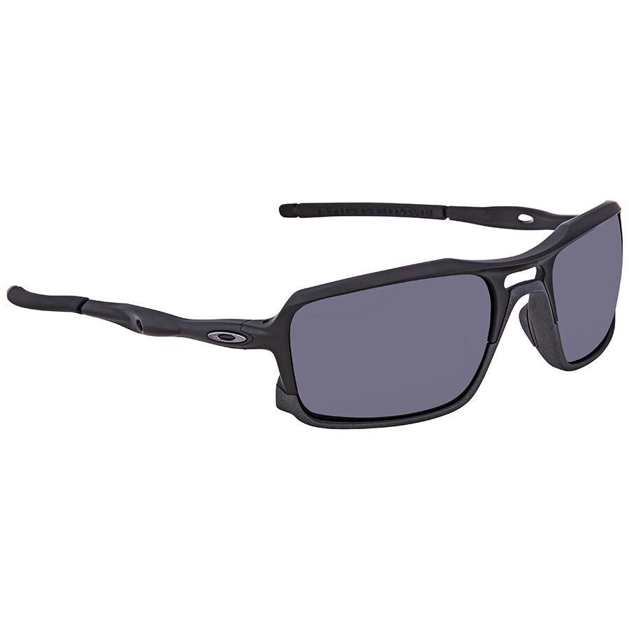 d580f813ad5c Oakley Triggerman Black Iridium Rectangular Men's Sunglasses  OO9266-926601-59 ...