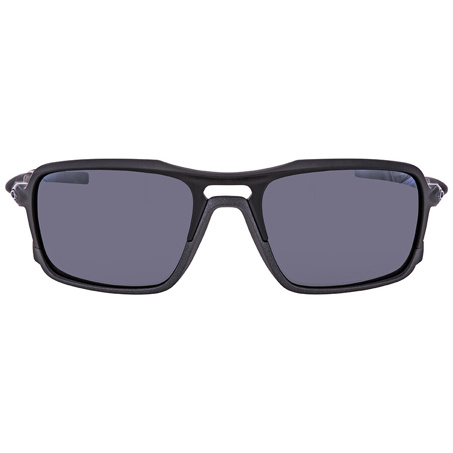 e8522a6aec47 ... Oakley Triggerman Black Iridium Rectangular Men's Sunglasses  OO9266-926601-59 ...