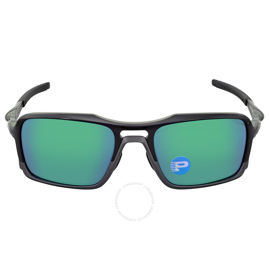 bf1b3a846f Oakley Triggerman Polarized Jade Iridium Sunglasses Item No.  OO9314-931402-56