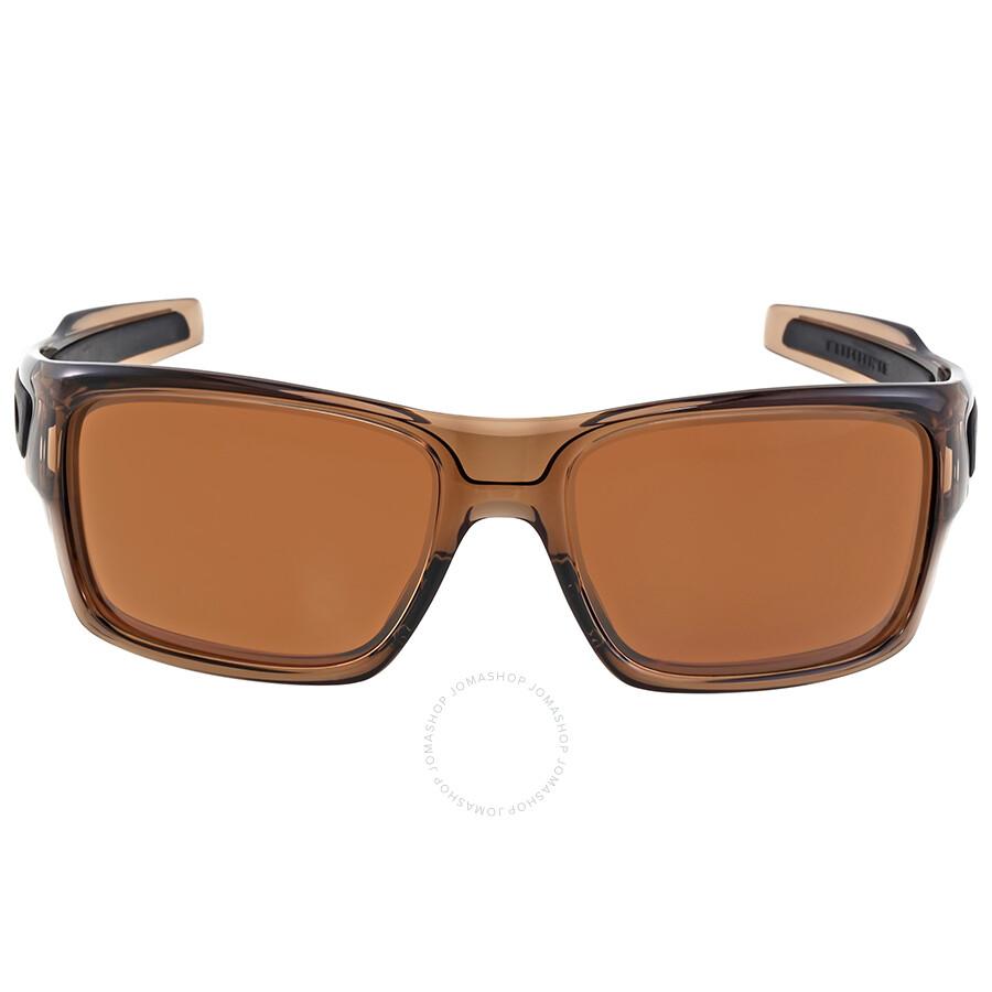 f93b3a69232 Oakley Turbine Dark Bronze Sunglasses - Oakley - Sunglasses - Jomashop