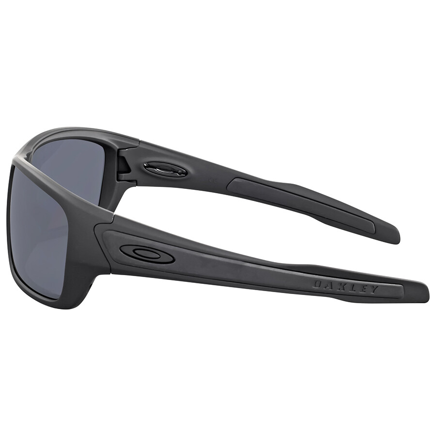 240e8ea04a8 ... Oakley Turbine Matte Black Polarized Sunglasses