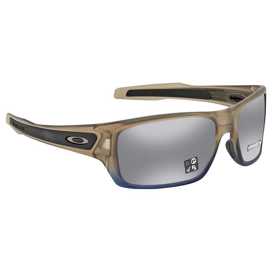 636c3c617c Oakley Turbine Navy Mist Rectangular Men s Sunglasses 0OO9263 926352 63 ...