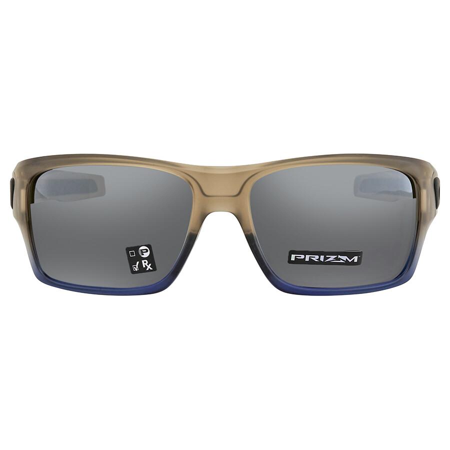 61992d5856cc ... Oakley Turbine Navy Mist Rectangular Men s Sunglasses 0OO9263 926352 63  ...