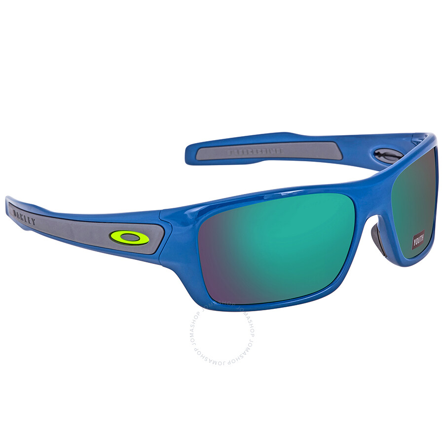 838327e5cf9 Oakley Turbine Prizm Jade Round Juniors Sunglasses OJ9003-900313-57 ...